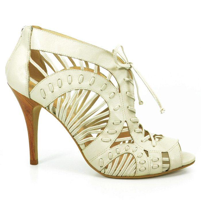 Sandalia Summer Boots Feminina Werner Off White