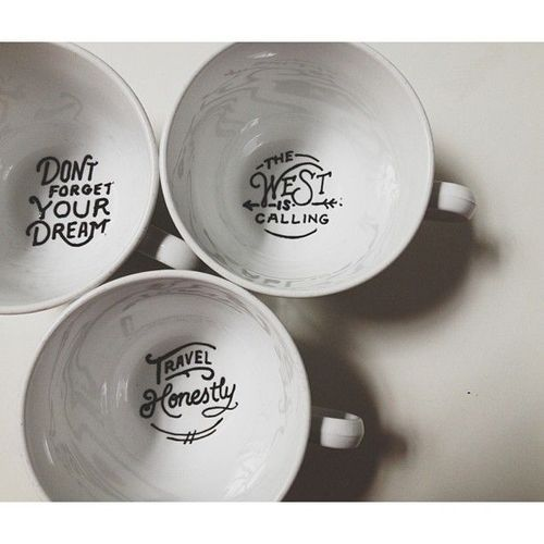 brotherstories:  These mugs are a must.For coffee, tea and friendly reminders.