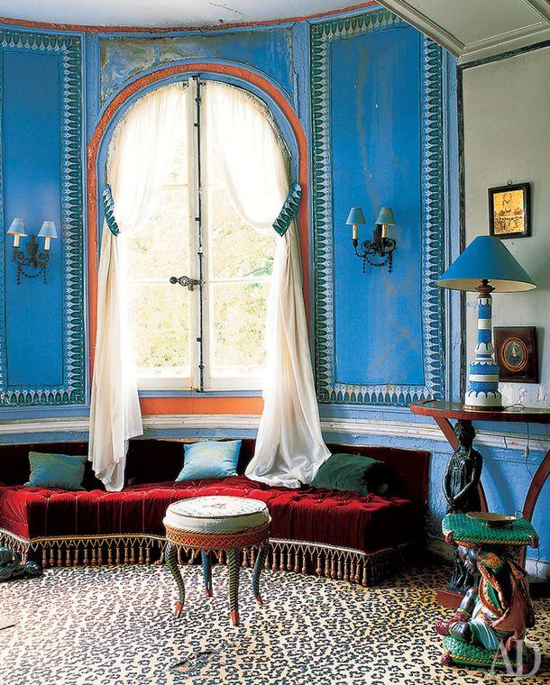 Дом под Шартром, Франция Дизайнер Мадлен Кастен