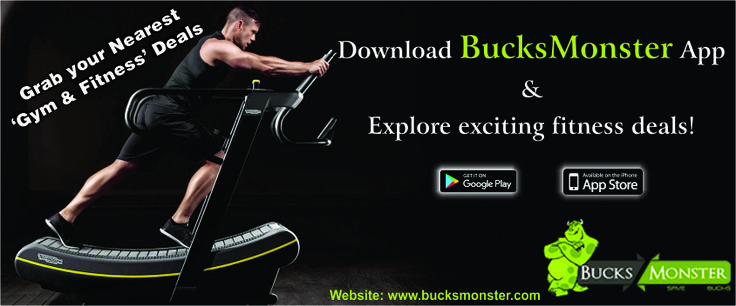 💪 Explore discounts at your local gym! SinUp to @bucksmonsterapp and check out the best gym membership offers in #Tricity ✌️  Grab more exciting gym and #fitnessoffers. #Gymlover #GymFitness #Health #gym #deals#offers #chandigarhdeal