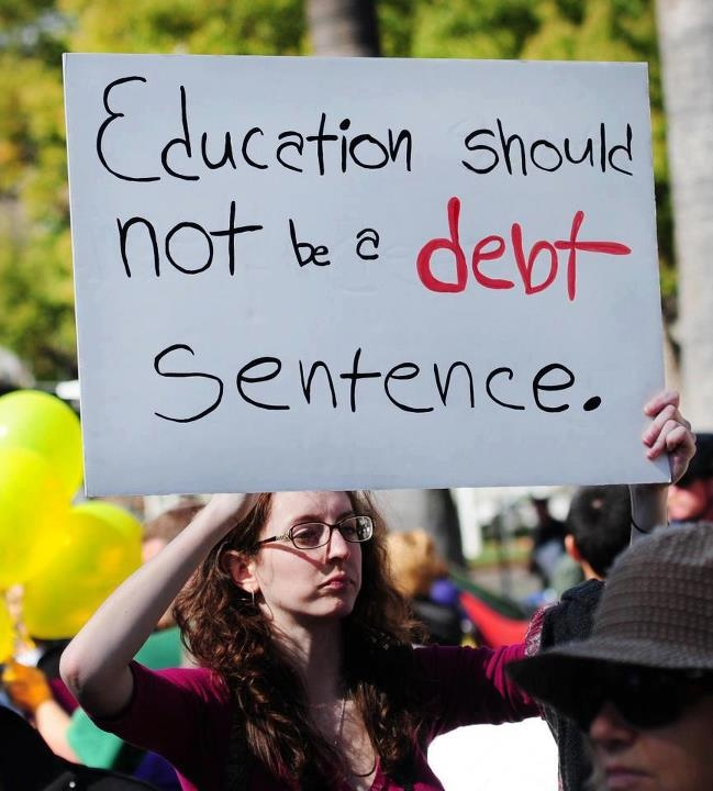 """Education should not be a DEBT sentence."": Debt Sentences, Quote, An Education, Phones Covers, Paper Work, So True, Students Loan, College Grad, True Stories"