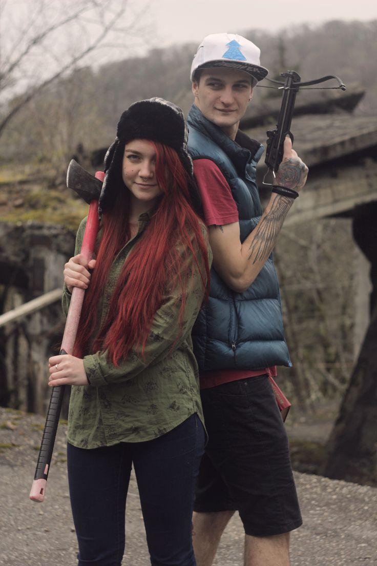 Dipper and Wendy from Gravity Falls    Photo: Anastasia Klimanova    Model: Seriy Nepomnyashyi and Ksenya