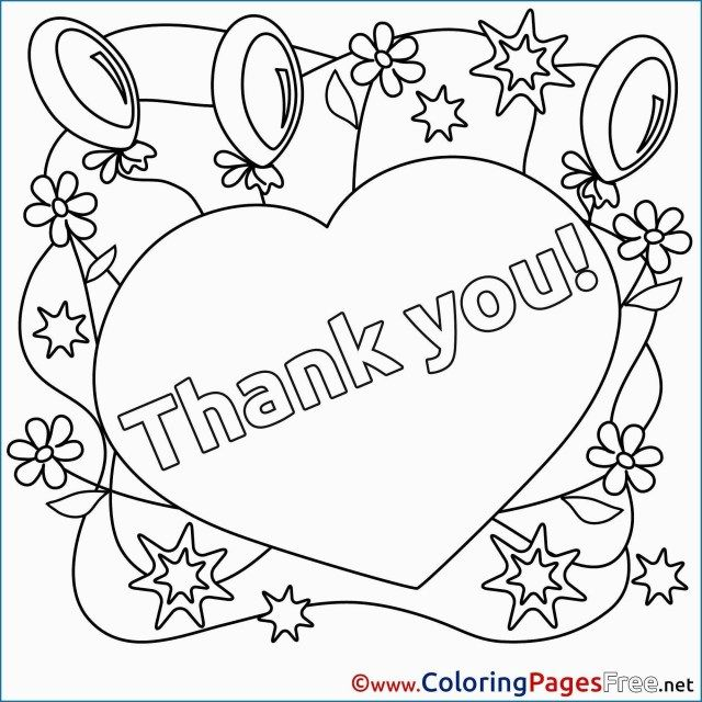 - 25+ Inspired Photo Of Thank You Coloring Pages - Albanysinsanity.com Free  Kids Coloring Pages, Heart Coloring Pages, Printable Coloring Cards
