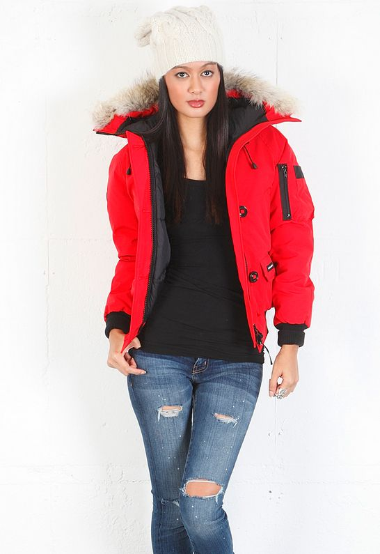 Canada Goose Yorkville Red Bomber