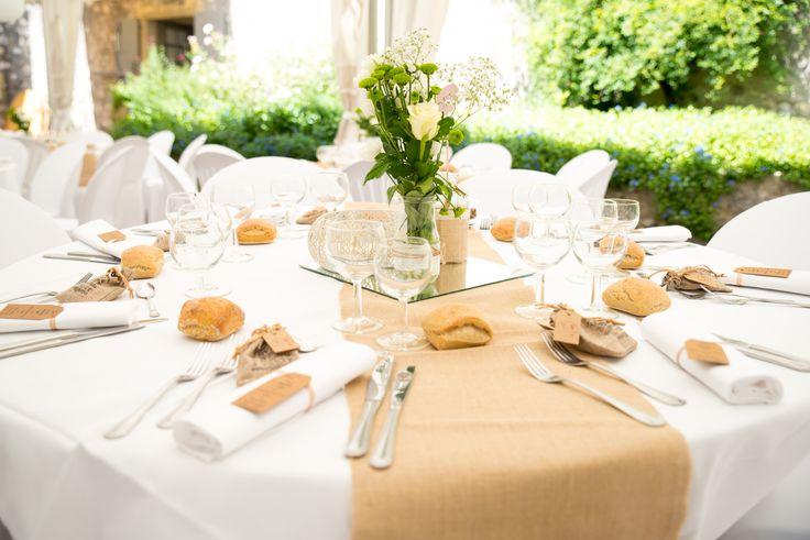Table centrepiece - vintage theme - wedding