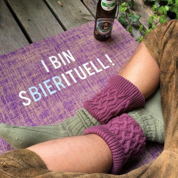 I Bin Sbierituell !  Wenn´s ein wenig Heimat auf der Yogamatte sein soll....  Bayerische Yogamatten Sonderaktion  #yoga #yogamatten #yogamattenkaufen #yogamünchen  #yogakaufbeuren,