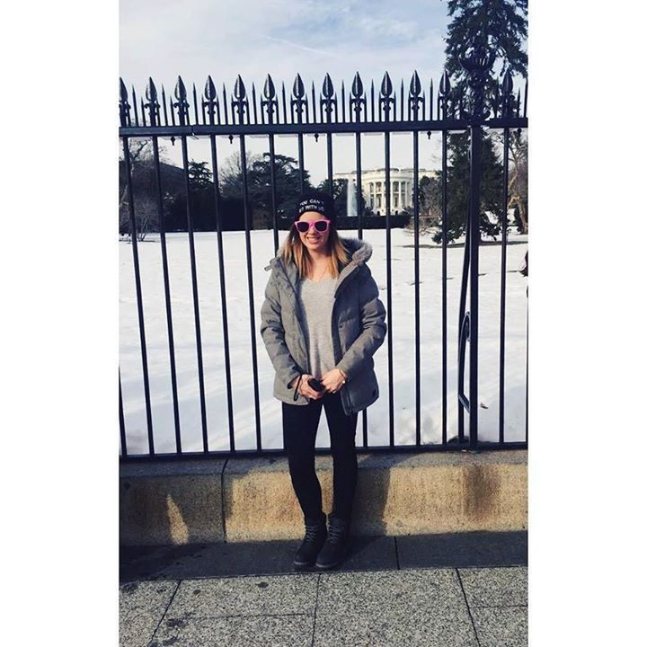 Today I visited Obamas house  #noregrets #contiki #washingtondc #easterndiscovery #thewhitehouse #Obama #happybirthdaytome by becmac__ #WhiteHouse #USA