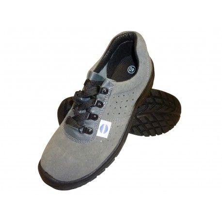Zapato de seguridad con suela antiperforaciones, fabricación francesa, Negro (negro), 39/42 EU