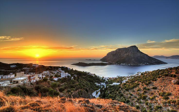 Kalymnos - Telendos sunset by George Papapostolou on 500px