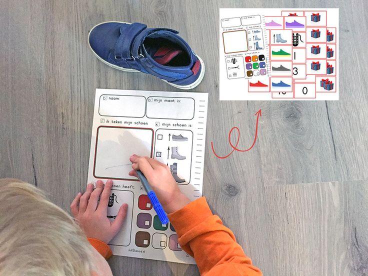 Download het gratis Sinterklaas schoenenspel.