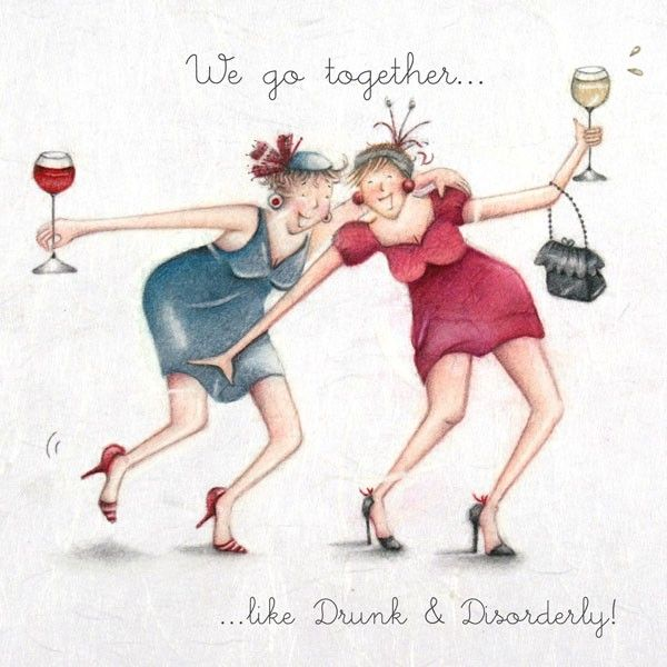 Artist - Berni Parker, funny, Cards » Drunk and Disorderly » Drunk and Disorderly - Berni Parker Designs