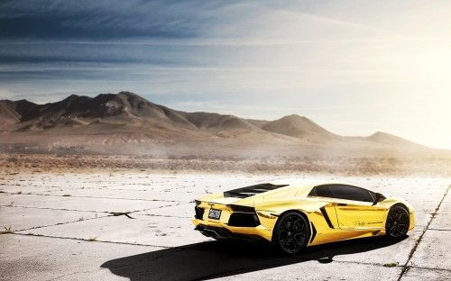 Going Once...Twice.. | $7.5 Million Gold Plated Lamborghini Model Car Up For Auction In Dubai
