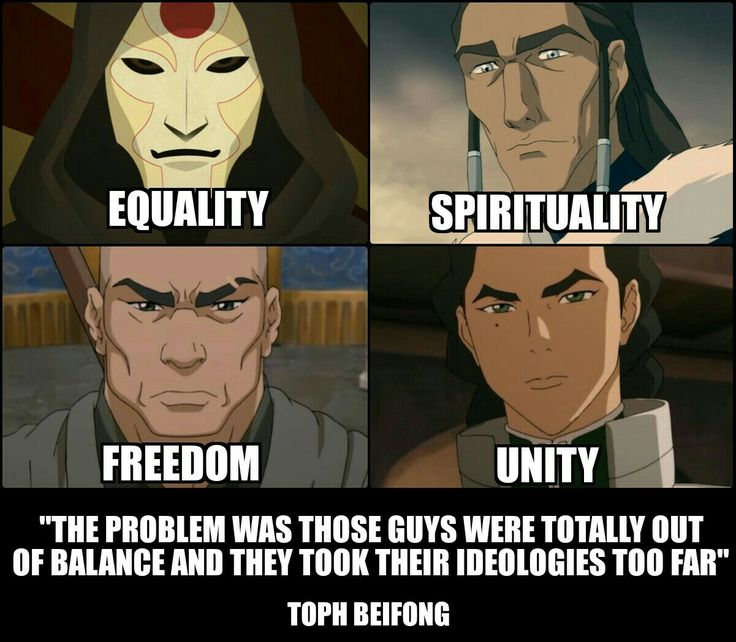 Avatar TLOK Villains