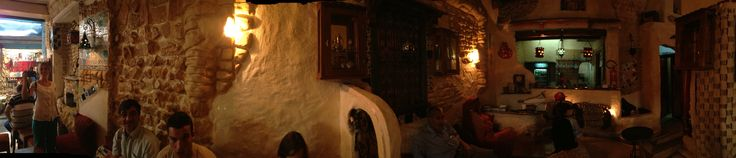 Cozy teahouse in Tunis