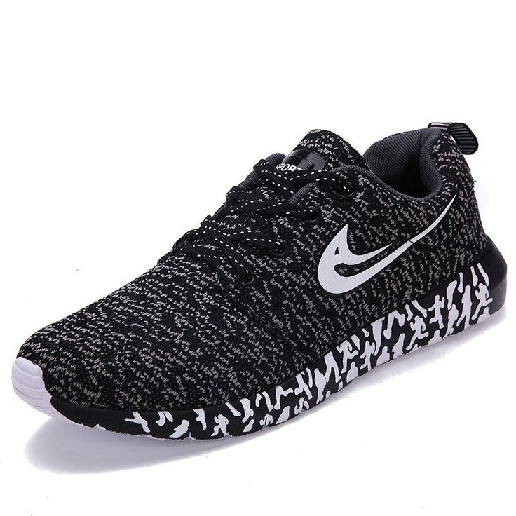 Men¡¯s Running Lightweight Breathable Casual Sports Walking Shoes Coconut Christmas Starry Sky Dear