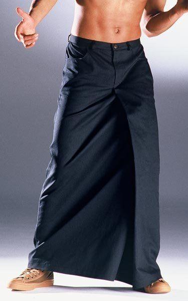 Männerrock London schwarz XL -- AndersLandinger - Männerrock - Röcke für Männer - Skirts for Men - Menskirt - Herrenrock - Jupe Hommes