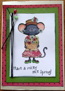 Wild About Scrap Design Team: Millie Flower Card