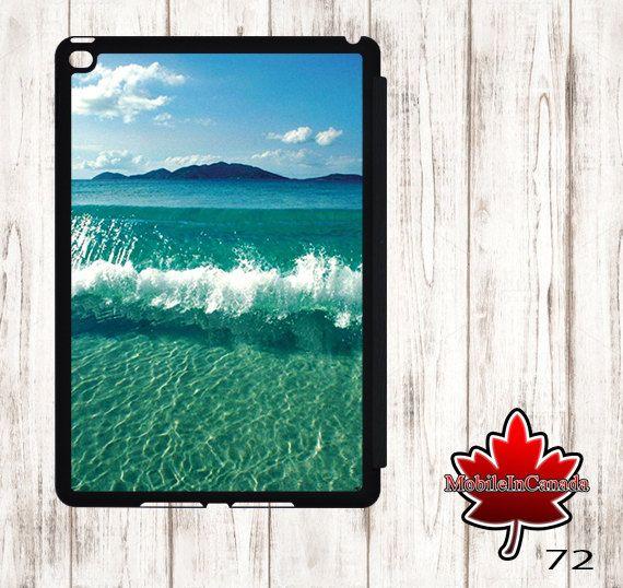 iPad cover Case stand smart leather flip ipad 2 3 4 air 1 2 3 mini 1 2 3 4 beach caraibe by MobileInCanada on Etsy