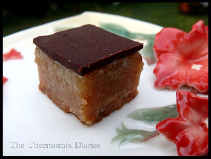 Dairy Free CaramelSlice