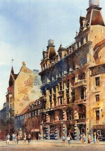 Oranowski by Tytus Brzozowski, fine art print from Tytus watercolor
