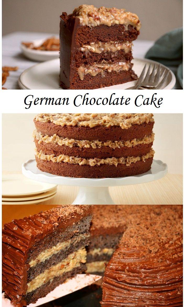 German Chocolate Cake Recipe Easy Chocolate Desserts