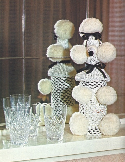 So, whatever happened to the crocheted poodle bottle covers?