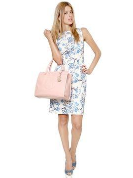ShopStyle.co.uk: Armani Jeans - Stretch Toile Sleeveless Dress £187.00