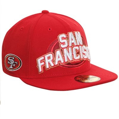 New Era San Francisco 49ers Youth 2012 NFL Draft Fitted Hat - Scarlet