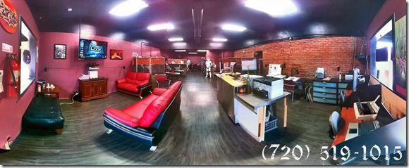 Our tattoo shop Denver CO