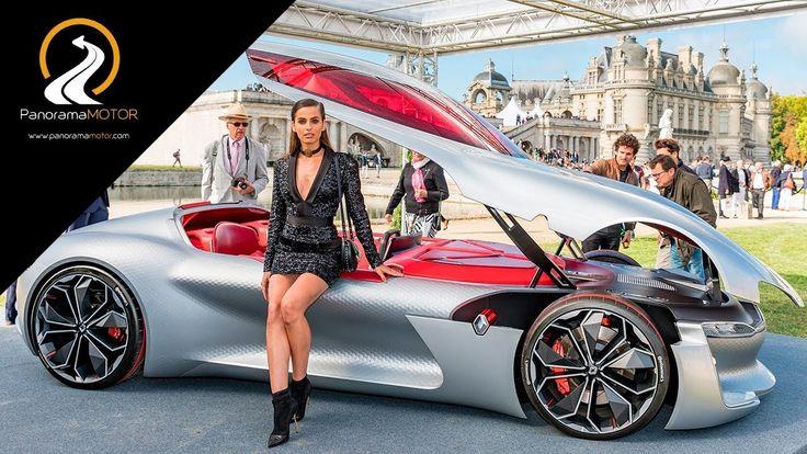 Renault TREZOR un GT eléctrico con tecnologías del futuro
