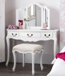 Poze SEA63 - Set Masa alba toaleta cosmetica machiaj oglinda masuta