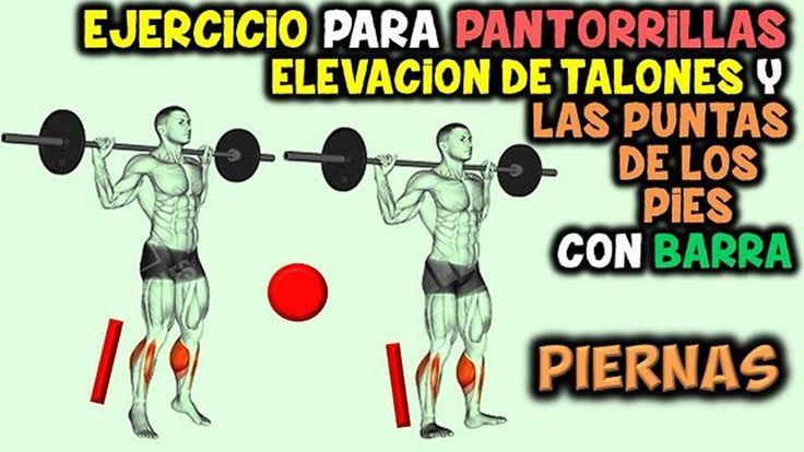 Ejercicio Para PANTORRILLAS | Elevacion de Talones y las Puntas de LOS P...