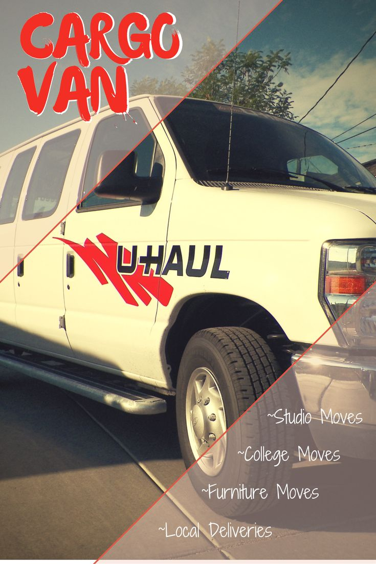 U-Haul cargo vans are popular with students who are moving into dorms or apartments for college. One way cargo van rentals are available in some locations. Rent a cargo van to move studio or smaller apartments, you will find that the cargo van rental is very fuel efficient when making an in-town move. | Planning For A Move