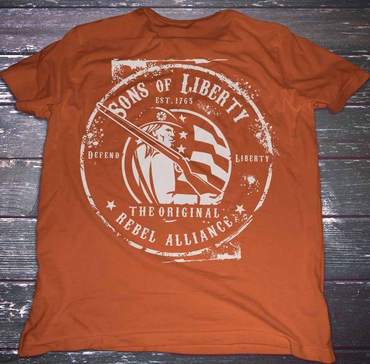 Sons of Liberty - Original Rebel Alliance : T-Shirt #3Percent #Apparel #Clothing #Dtom #Happy #Igmilitia #Instagood #Instastyle #Liberallogic #Liberty #Libtards #Livefreeordie #Menfashion #Mensfashion #Mensstyle #Menstyle #Menswear #Merica #Molonlabe #Murica #Patriot #Patriotic #Patriots #Republican #Sonsoflibertytees #Style #T-Shirts #Threepercent #UniteRight #Wethepeople