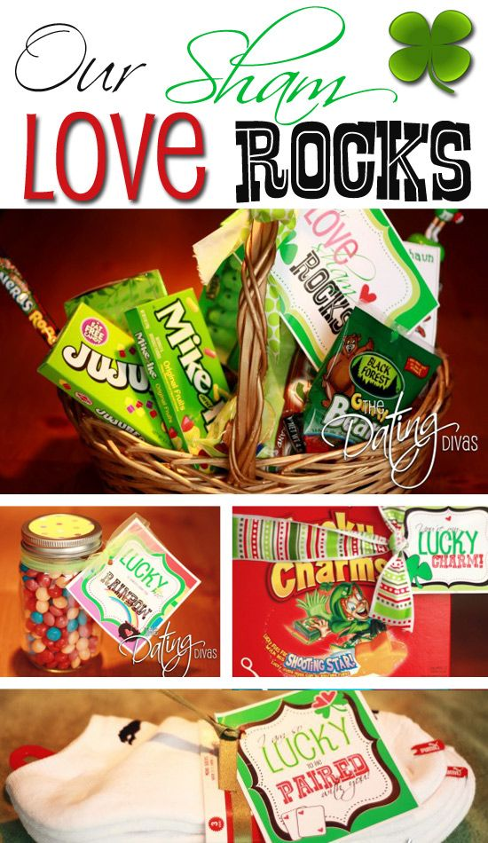 FOUR FREE Printables for your LUCKY love this St.Patrick's Day!  www.TheDatingDivas.com #free #printable #stpatricksday