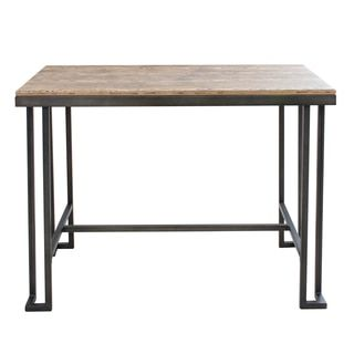 Shop for Roman Industrial Counter Table with Bamboo Top. Get free shipping at Overstock.com - Your Online Furniture Outlet Store! Get 5% in rewards with Club O!