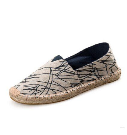 2016 NIEUWE! 23 kleuren! mode Vrouwen & Mannen canvas espadrilles vrouwen Flats casual Unisex lover schoenen Gratis verzending # HR228 in 2016 nieuwe! Mode unisex flats canvas espadrilles groot formaat women\'s flats stro oxford schoenen mannen m van boot schoenen op AliExpress.com | Alibaba Groep