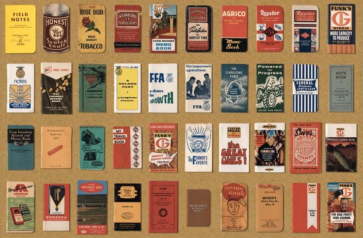 Field Notes Aaron Draplin collection