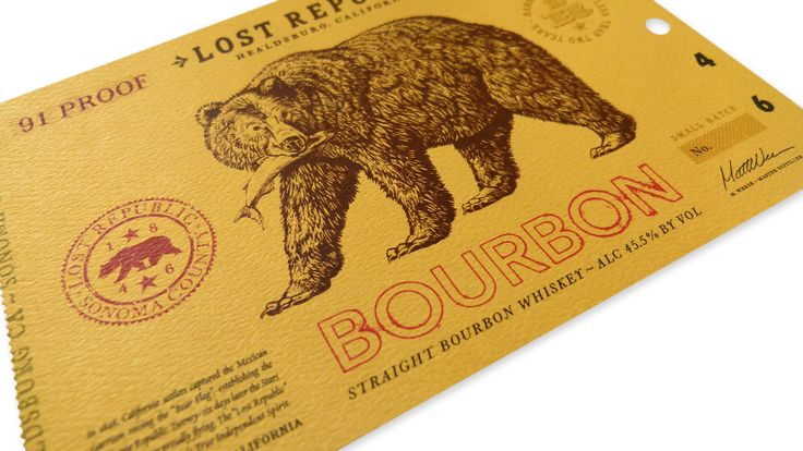 In 2015, the distillery challenged Austin Design Group to create the brand image and package design for its new bourbon brand, Lost Republic.