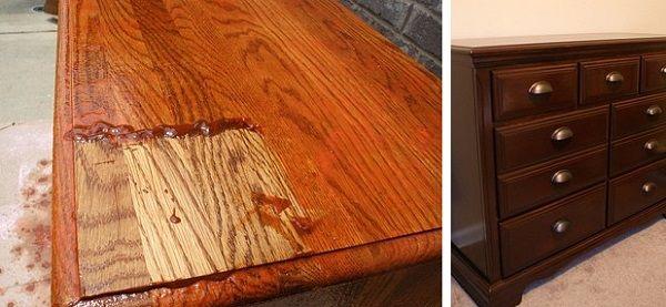 furniture staining