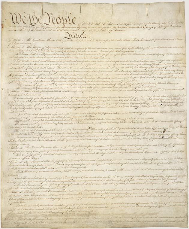 Constitution of the United States -