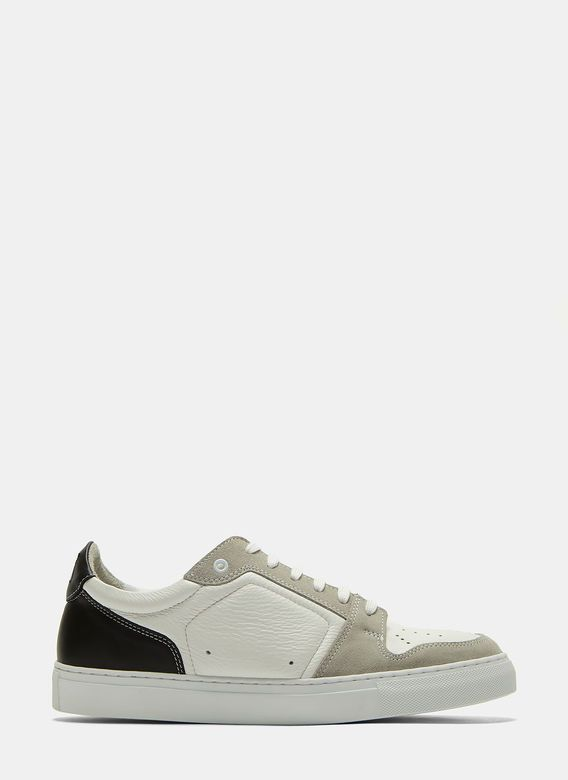 Men's Designer Trainers Shoes   Discover Now LN-CC - Contrast Panelled Low-Top Sneakers