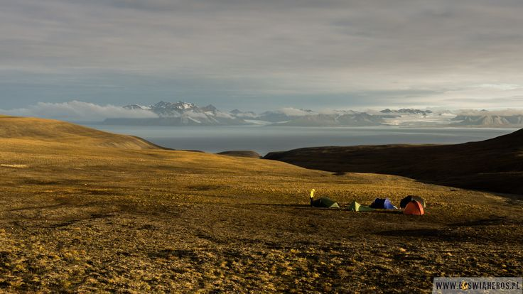 Midlle of the night - polar summer in Svalbard. During watch for polar bears which wants to eat us ;-)