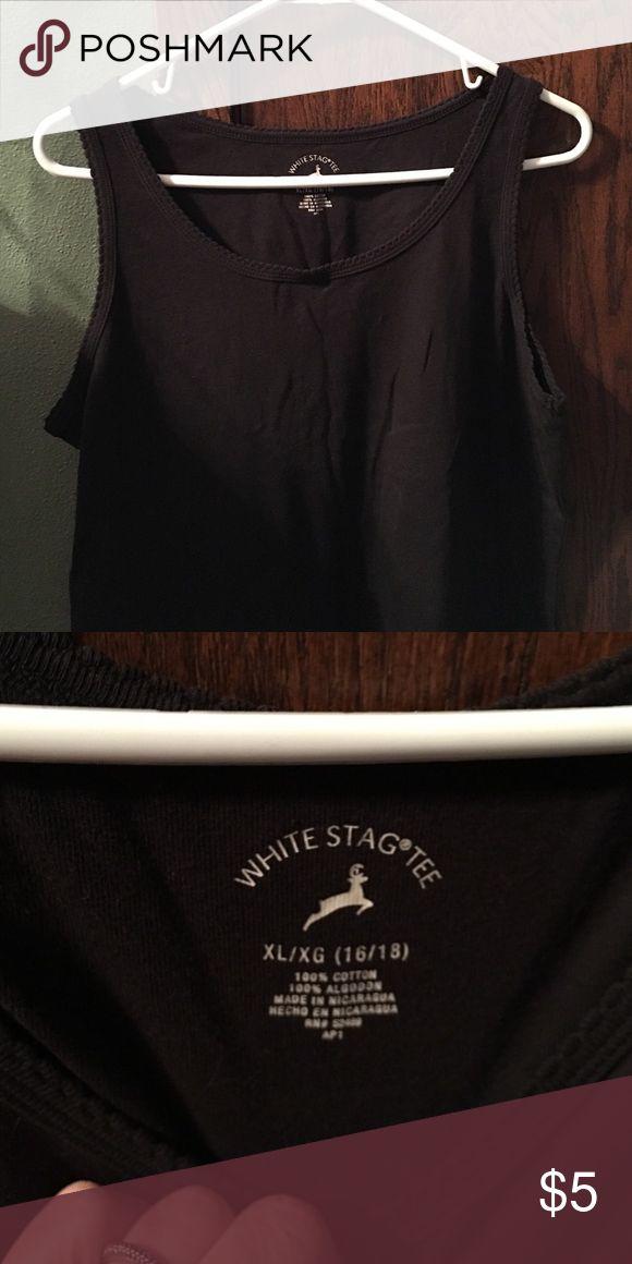 Scalloped tshirt NWOT scalloped tshirt White Stag Tops Tank Tops