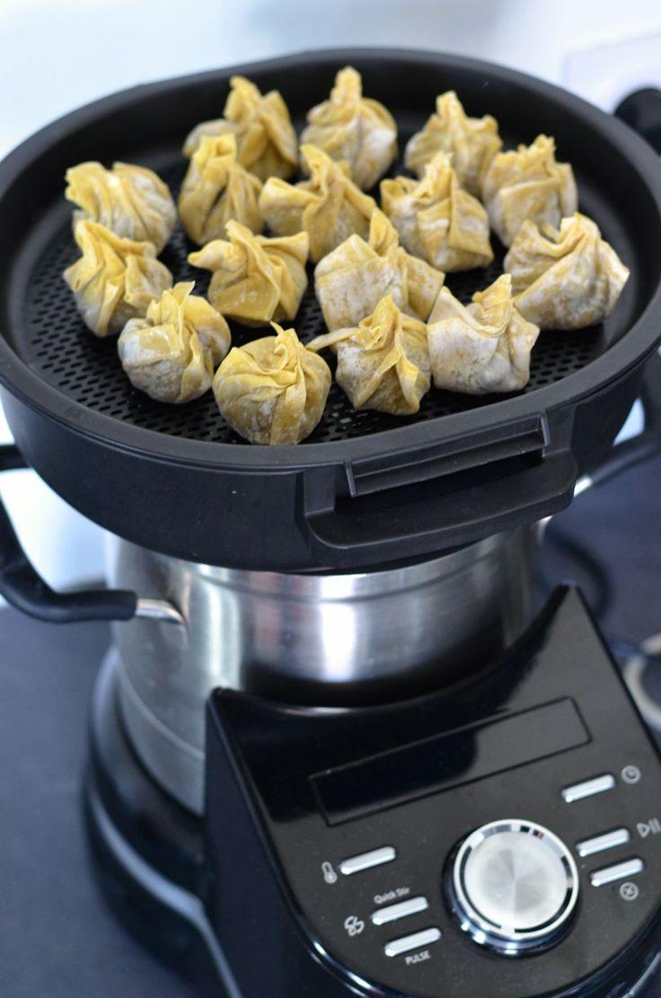 Ravioli chinois à la vapeur, au poulet et au citron : testé et approuvé