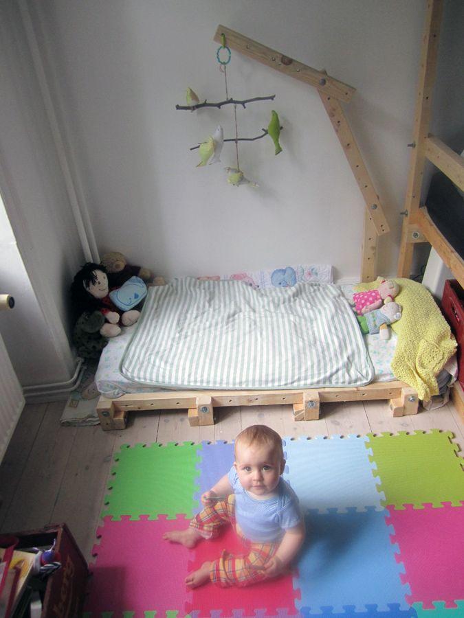 Montesorri-Living Structure floor bed