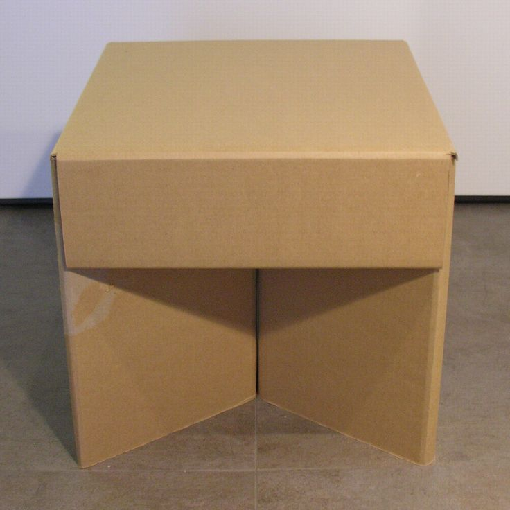 cardboard furniture design. cardboard stool by piotr pacaowski furniturestools furniture design