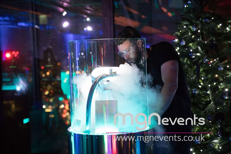 Nitro Pod Ice Cream! These futuristic nitro pods use an advanced nitro system to create instant #icecream right in front of your eyes! An incredible futuristic party for 200 people took place at Landing Forty Two. If you need help transforming your next event get in touch with us #partybymgn #london #corporateparty #eventprofs #londonvenue