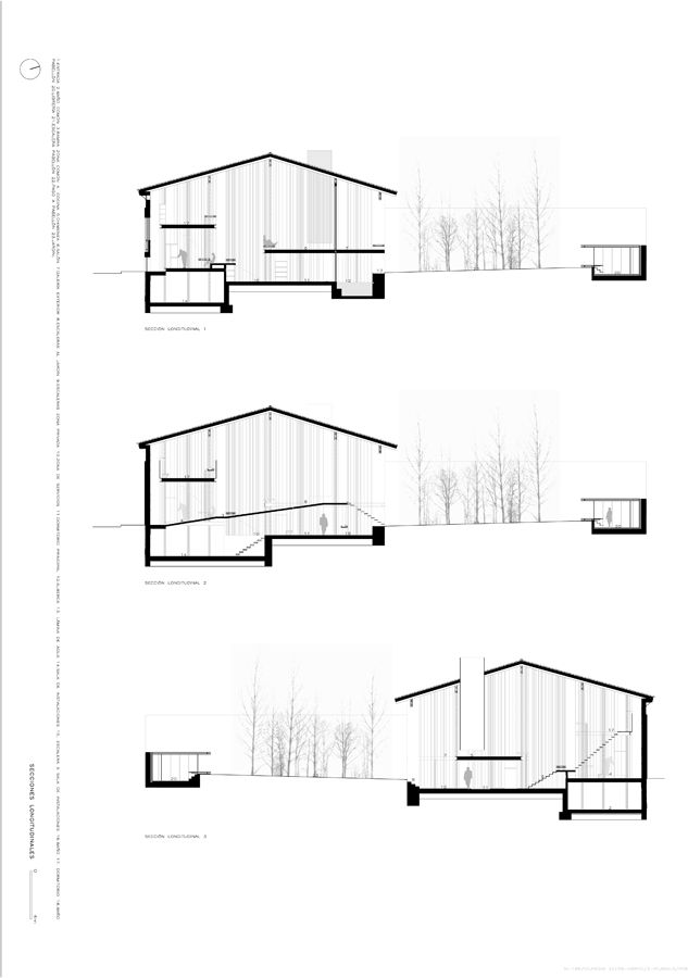 Best Architecture Sections Elevations Images On
