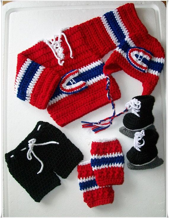 Montreal Canadians Jersey, Hockey Set, Sports Babies ...